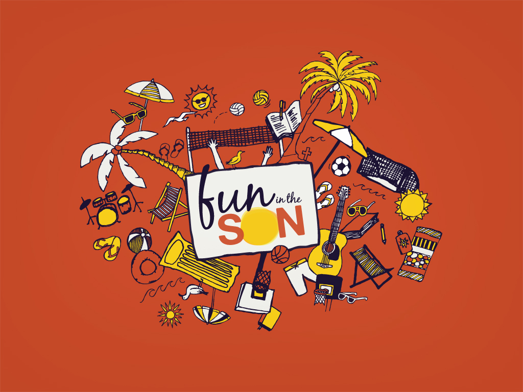 Fun in the Son Wallpaper (1024x768)