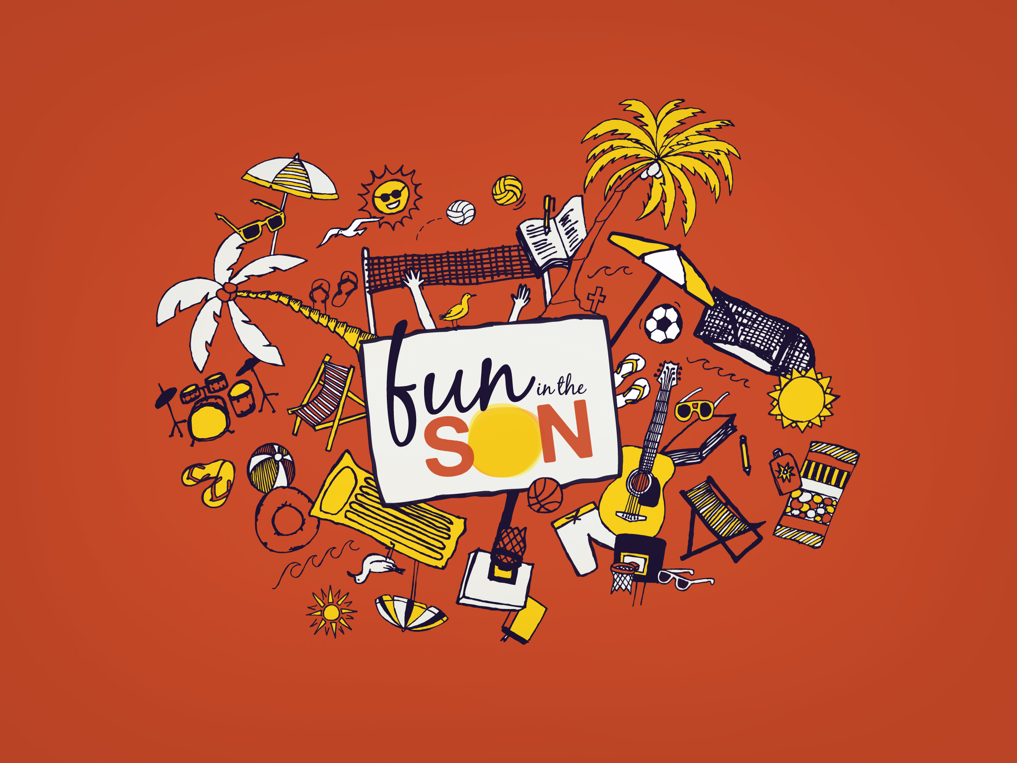 Fun in the Son Wallpaper (2048x1536)